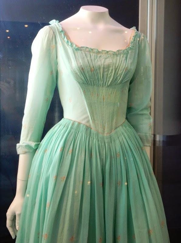 Cinderella film costume detail