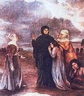 Φώτη Κόντογλου: Η Πολιούχος των Aθηνών Αγία Φιλοθέη