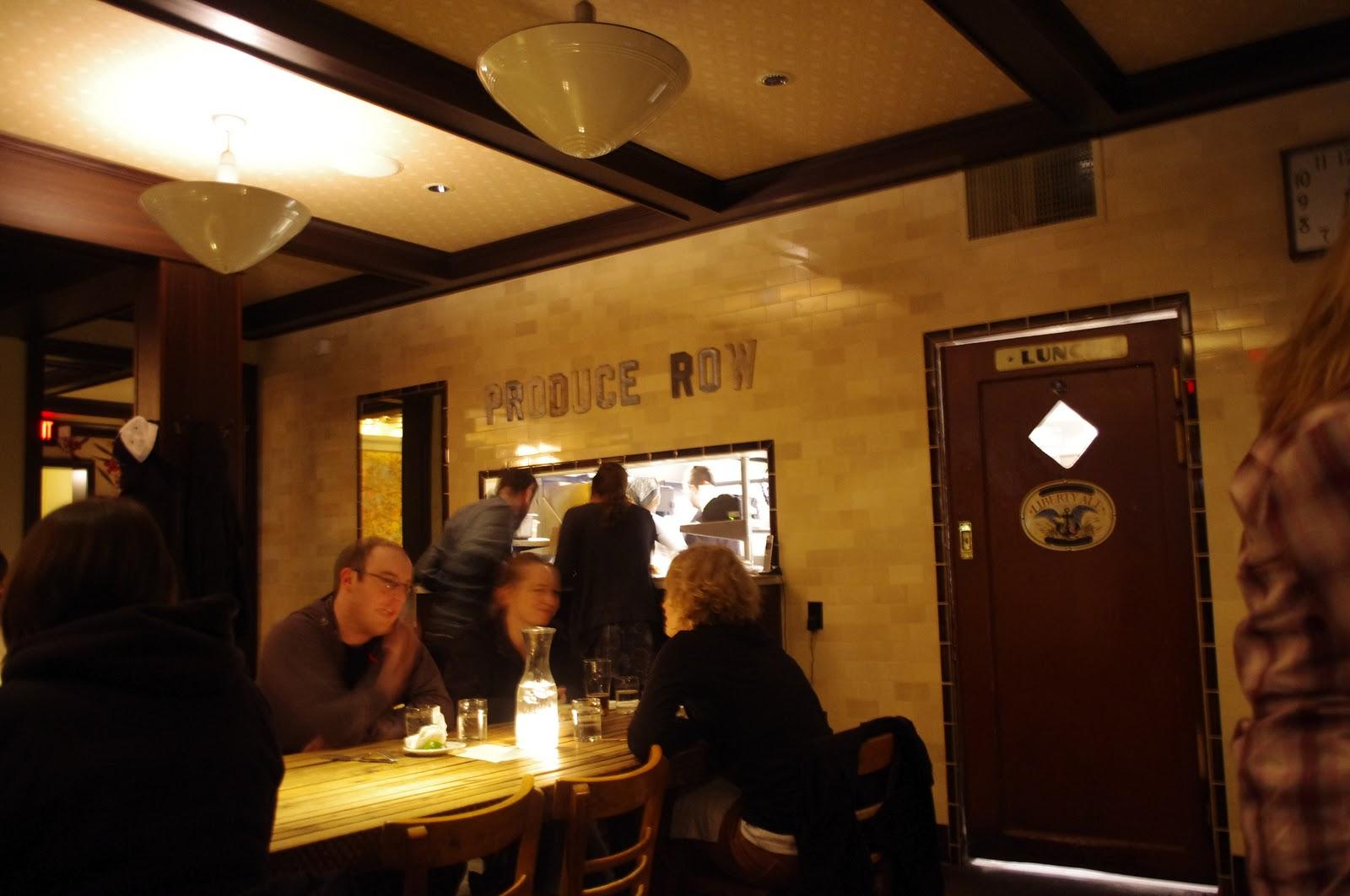 Produce Row Cafe Portland Happy Hour