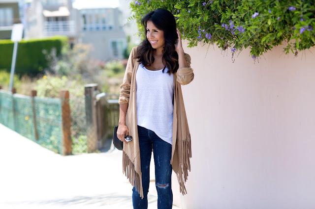 Fringe Jacket, Zara Jacket, How to wear fringe, fringe for fall