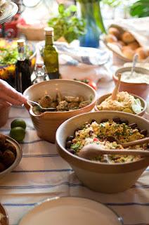taboulé pour pique-nique, lunchbox, barbecue, plancha (garniture) entrée fraîcheur