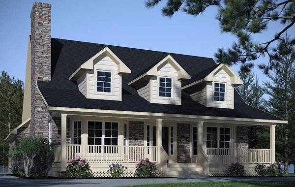 Planos casas modernas planos de casas tipo americano for Casas estilo americano