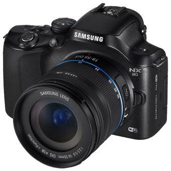 Spesifikadi dan Harga Kamera Terbaru Samsung NX20