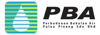 Perbadanan Bekalan Air Pulau Pinang (PBA)