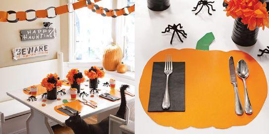 Maison doux aspettando halloween - Decorazioni tavola halloween ...