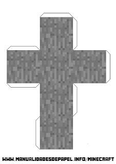 Crear bloque minecraft de piedra