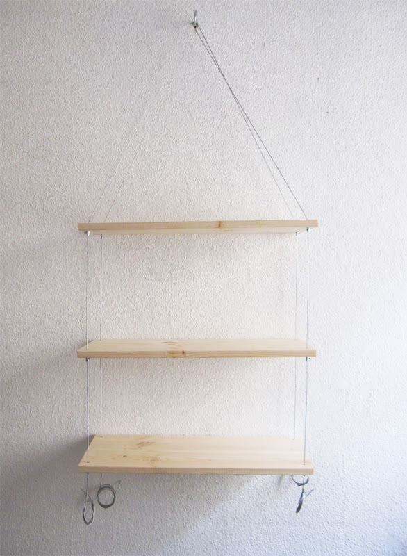 Hanging Shelves without Drilling Holes