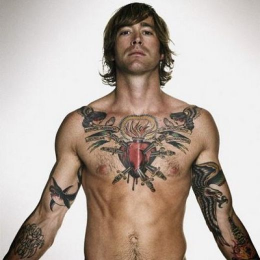 Beautiful Tattoos 30 Breathtaking Chest Star Tattoos For Men