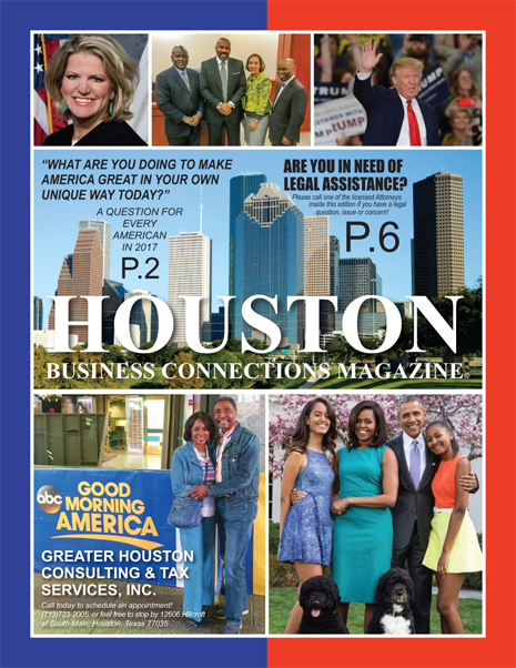VIEW THIS EDITION OF HOUSTON BUSINESS CONNECTIONS MAGAZINE
