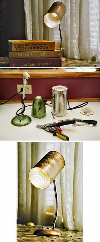 Tin Can Lamp Shade