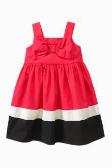 Colorblock Bow Dress