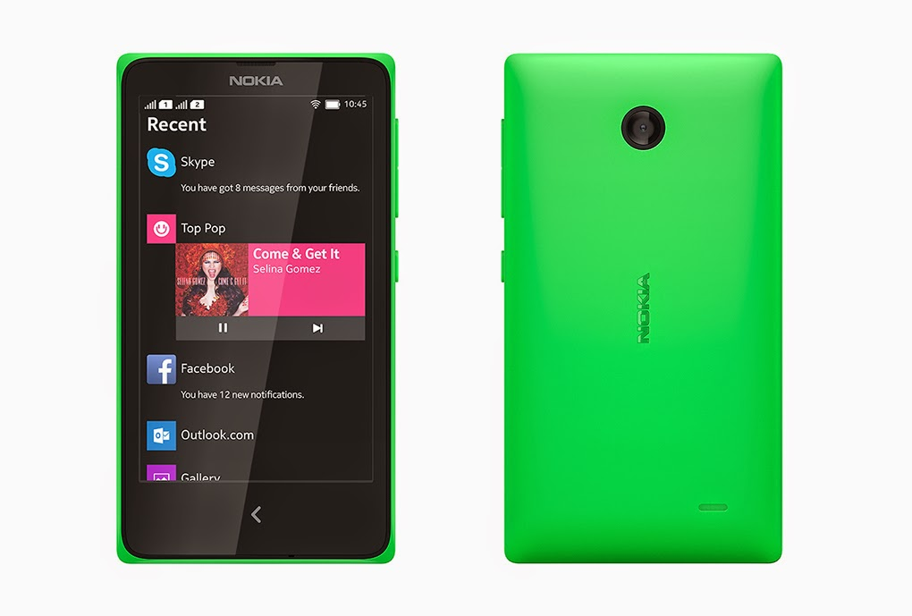 Nokia New Phone 2014 Android Nokia x Dual Sim Android Phone