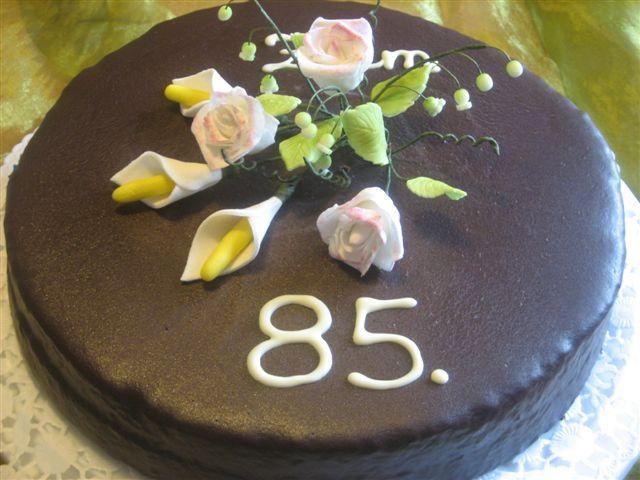 Torten tr ume zum 85 geburtstag - Geschenke zum 85 geburtstag ...