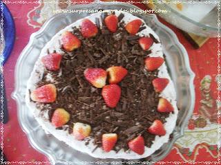 bolo em forma de coração
