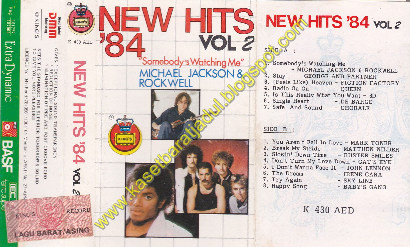 New Hits '84 Vol 2 (Kings Records)
