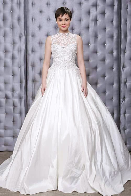2014 cheap beautiful wedding dresses collection by Veluz Reyes