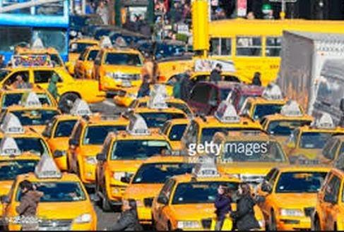 Warna Taksi di Bandung Akan Disamakan: Kuning