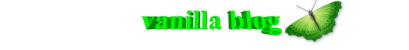 vanilla blog