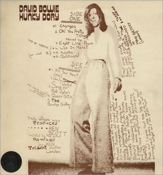 How the Kooks got their band name - David Bowie - Hunky Dory