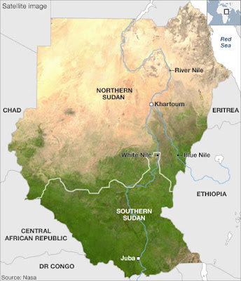 Sudan Map Pictures and Information