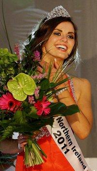 miss northern ireland 2011 winner finola guinnane