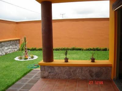 Decoraci n minimalista y contempor nea ideas y estilos for Modelos de patios para casas