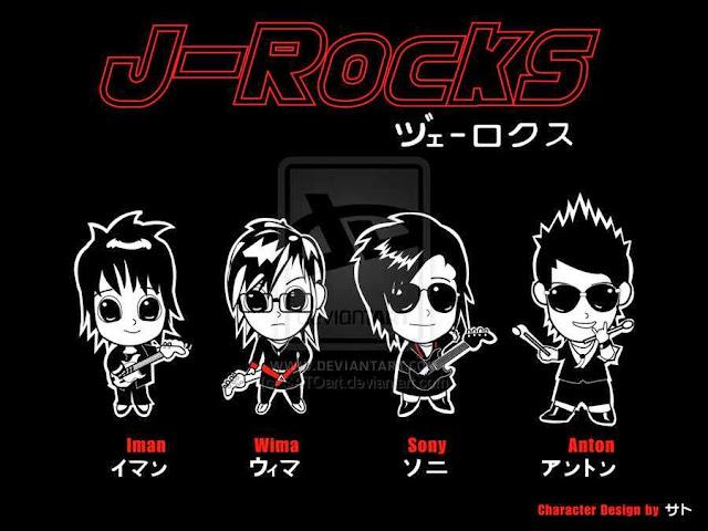 Foto Personil J-Rocks