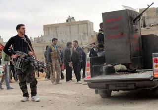 الجيش السوري الحر، يعلن السيطرة على كتيبة للدفاع الجوي في «الغوطة» الشرقية بريف دمشق