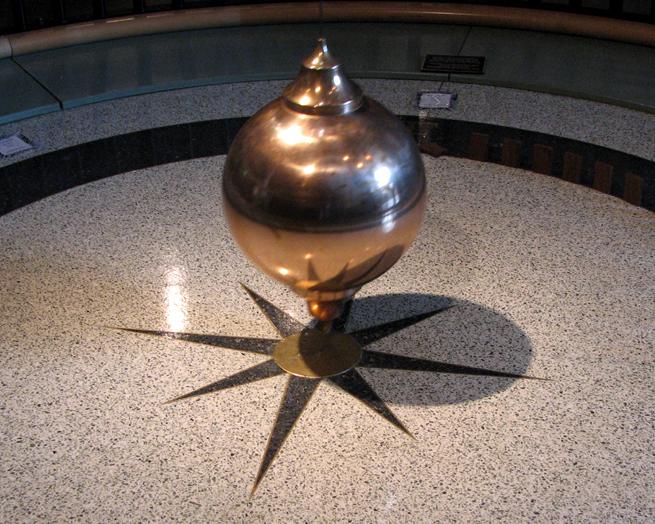 Focault's Pendulum, Museum of Natural History, San Diego