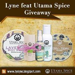 Lyne feat. Utama Spice Bali Mega Giveaway!