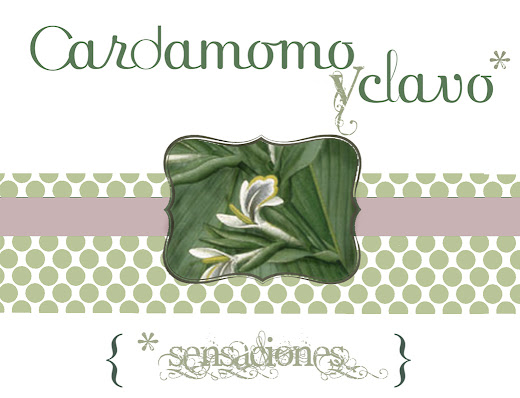 Cardamomoy clavo