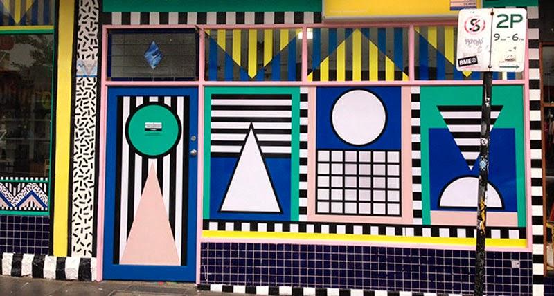 Originales diseños de tiendas
