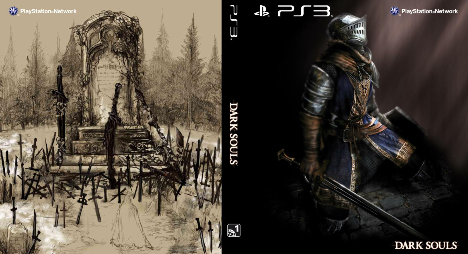 Capa Dark Souls PS3