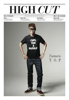 [K-Pop] High Cut Magazine - Vol. 71 Big Bang's TOP ! BigBang!