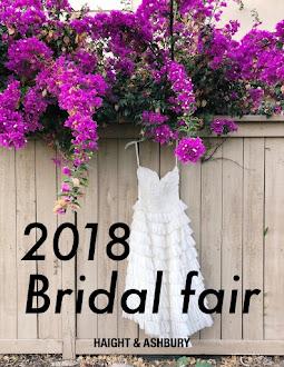2018 Bridal fair (3/31-4/15)