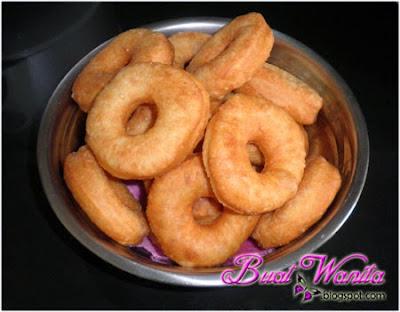Resepi Mudah Donut Gebu. Cara Buat Donut Simple Sangat. Donut Goreng Simple Sedap Senang.