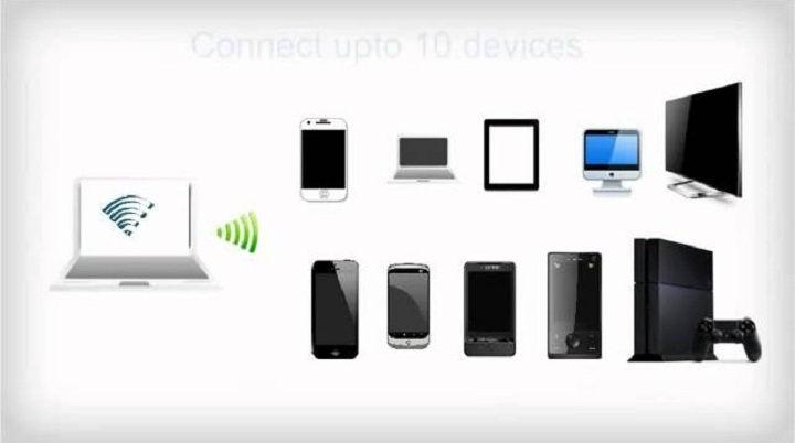 برنامج تحويل الحاسوب المحمول إلى راوتر واي فاي وهمي لمشاركة الإنترنت mhotspot virtual wifi router
