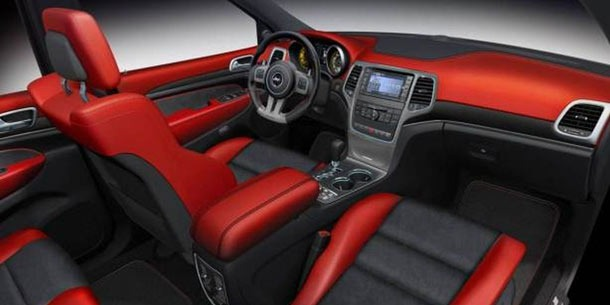 Jeep Grand Cherokee SRT8 Interior 2013