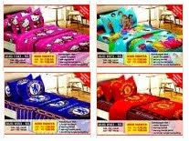 SET CADAR SINGLE+COMFORTER