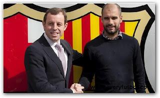 Guardiola Renovó Su Contrato Hasta El 2012