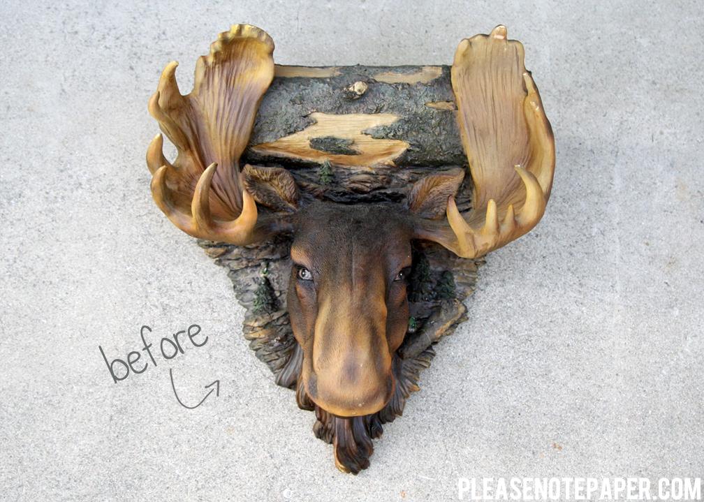 Moose Painting Amazoncom