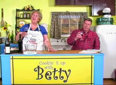 Betty is joined by a well known Sweet Swine County citizen, Elmer Plow on Cooking it up with Betty!