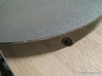 Corte limpio recién hecho aún sin limar. www.enredandonogaraxe.com