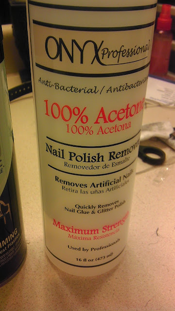 use acetone nail polish remover to remove any mishaps on ears. Black Bedroom Furniture Sets. Home Design Ideas