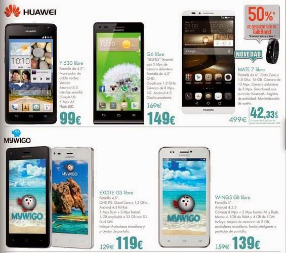 Smartphone Huawei Navidad 2014