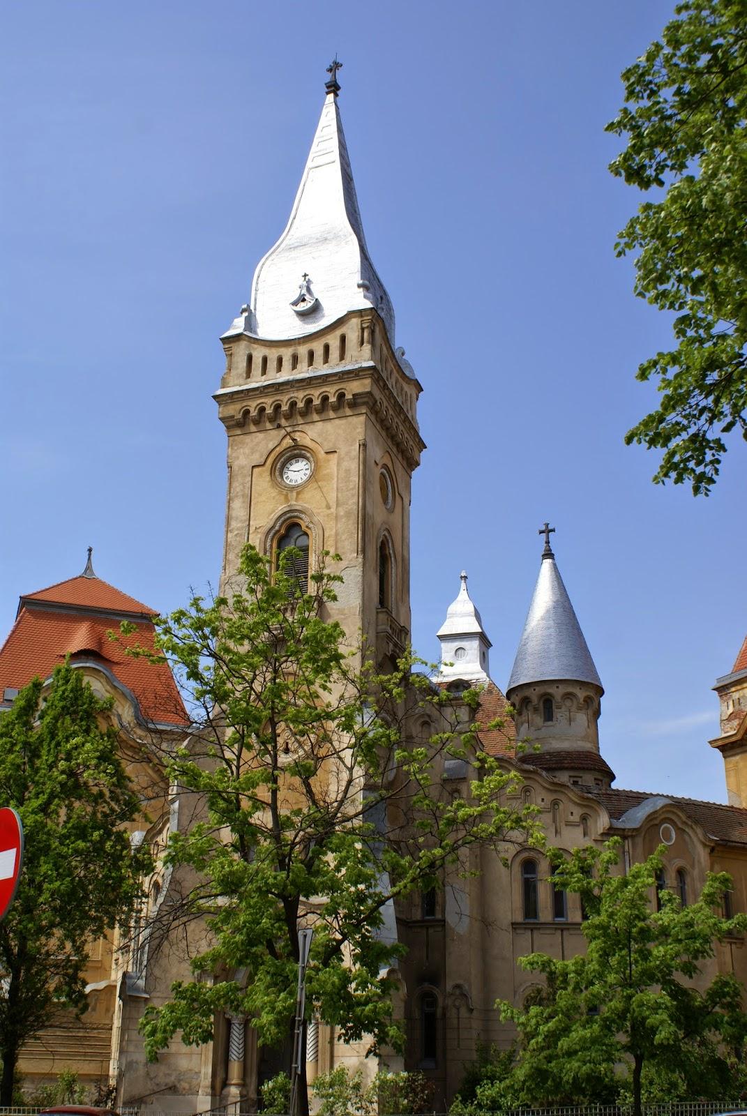 """Biserica Piariştilor """"Înălţarea Sfintei Cruci"""" din Timișoara"""