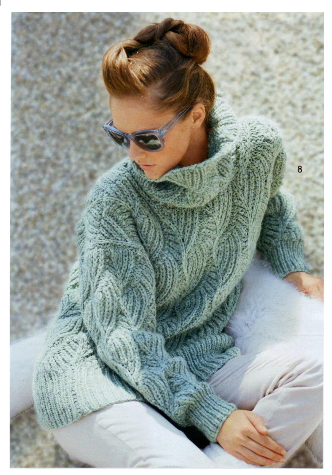 Женский свитер из толстой пряжи с доставкой