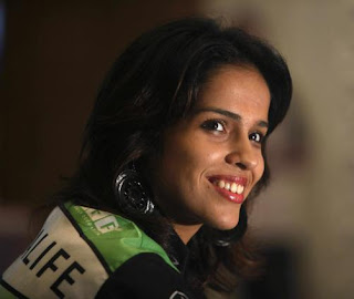 Sweet Badminton Girl Saina Nehwal
