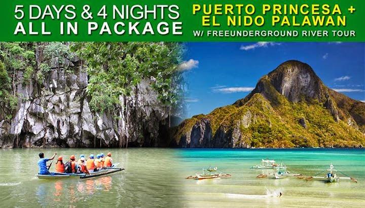 5d 4n Puerto Princesa And El Nido Palawan All Included