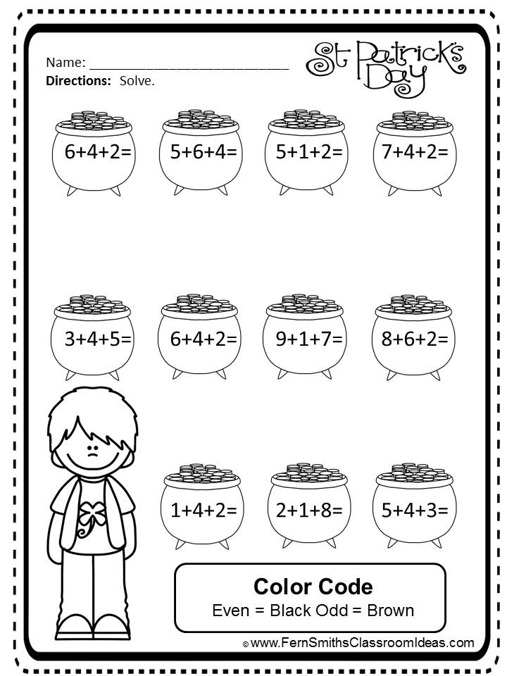 www.teacherspayteachers.com/Product/St-Patricks-Day-Three-Digit-Addition-Task-Cards-and-Printables-1149071